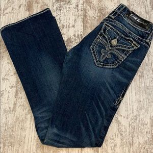 Rock Revival Eva Relaxed boot cut jeans